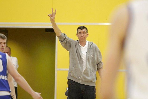 Michal Pekárek, trenér Basketbalu Olomouc
