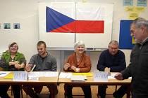 Druhé kolo prezidentských voleb na ZŠ Dr Nedvěda v Olomouci