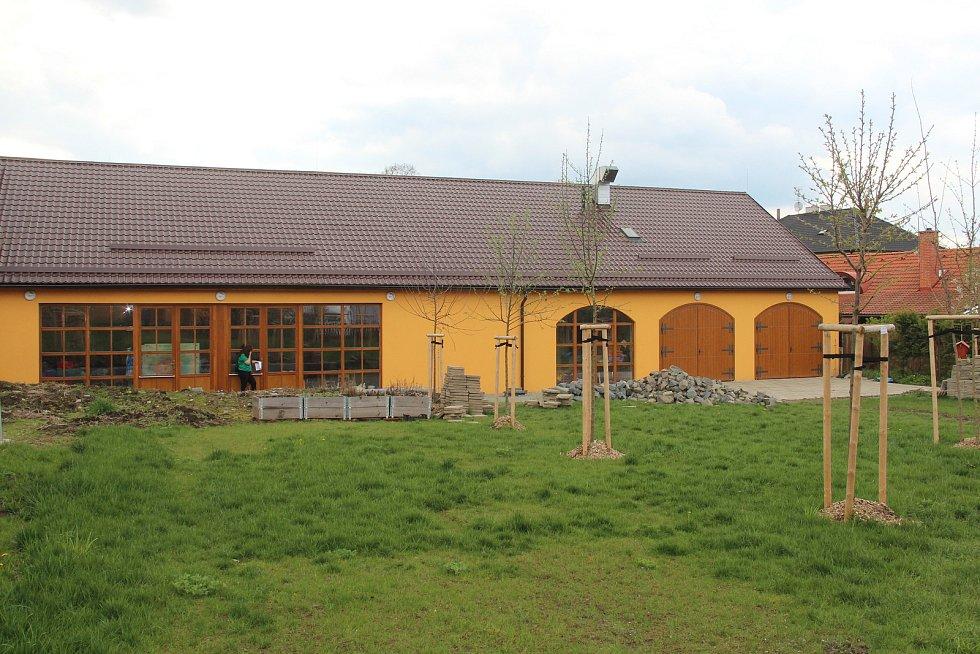 Zahrada komunitního centra v Ústíně