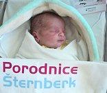 Zuzana Hrčková, Olomouc-Pavlovičky narozena 30. října míra 49 cm, váha 2960 g