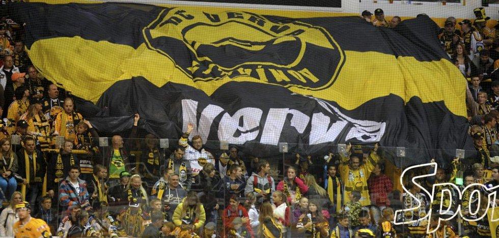 Fanoušci Litvínova. HC Verva Litvínov - HC Olomouc