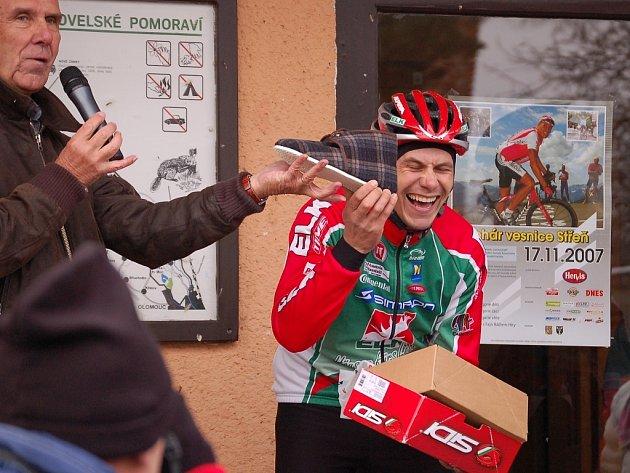 Cyklista Tomáš Konečný.