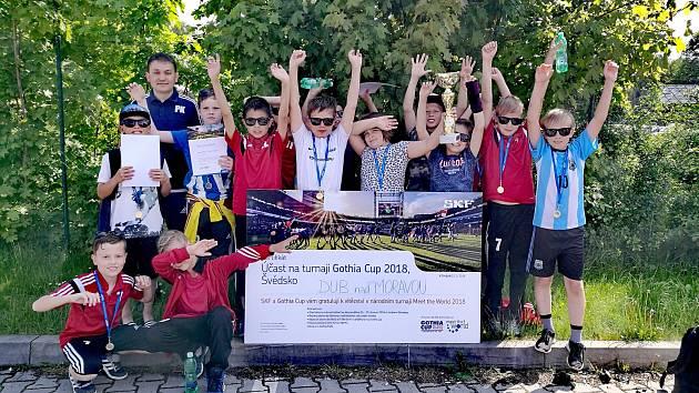 Mladí fotbalisté z Dubu vybojovali účast na turnaji Gothia Cup ve Švédsku.
