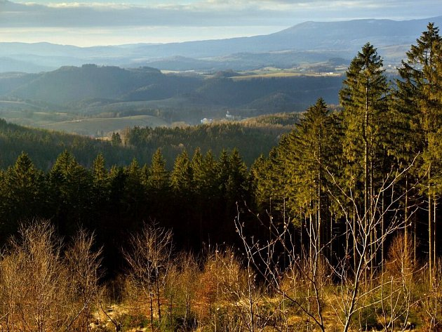 Panorama Jeseníků. Ilustrační foto