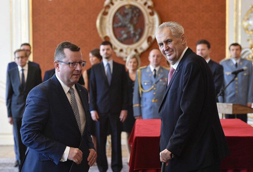 Prezident Zeman jmenuje Antonína Staňka ministrem kultury