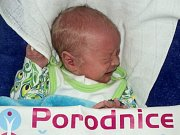 Petr Toman, Medlov narozen 12. března míra 46 cm, váha 2780 g