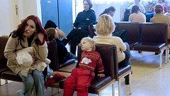 Čekárna u lékaře. Ilustrační foto