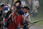 Bitva rakouských vojsk (nejen) s Prušáky na fortu u Křelova