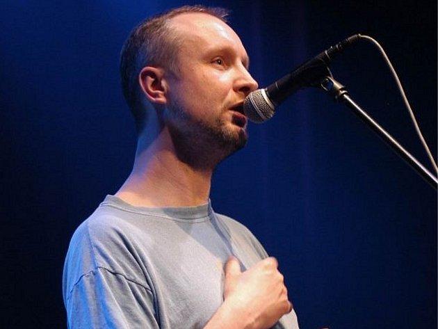 Zpěvák skupiny Priessnitz Jaromír Švejdík.