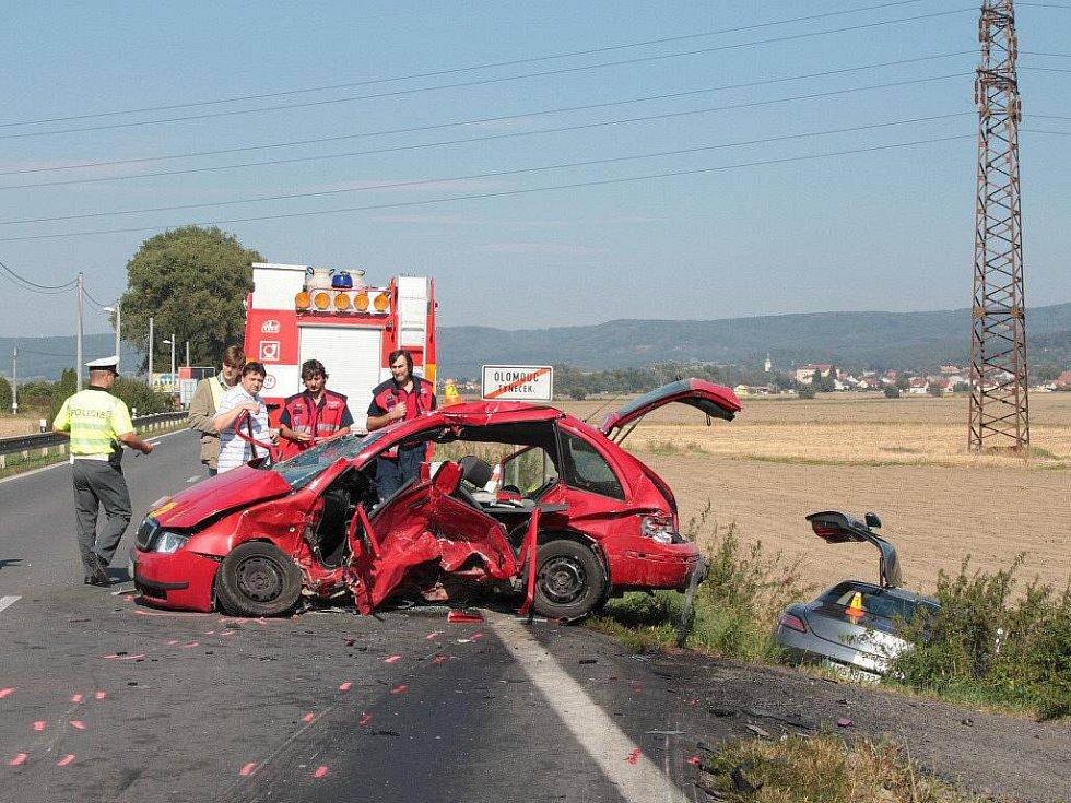 Tragická nehoda v Týnečku