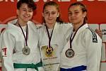 Olomoučtí judisté získali čtyři tituly mistrů republiky. Markéta Prusenovská ovládla kategorii do 52 kg.
