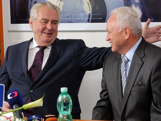 Prezident v Olomouckém kraji - 18.-20. května 2016