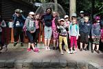 Petra Pěnkavová v létě organizuje Taneční příměstský tábor pro děti. S nimi si užila také výlet do zoo