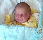 Šimon Juráš, Břevenec, narozen 9. října ve Šternberku, míra 48 cm, váha 3250 g