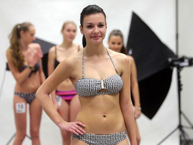 Casting soutěže Miss OK 2016 (Miss středních škol Olomouckého kraje)