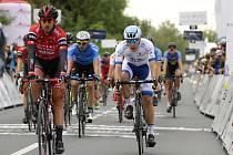 Na Moravě probíhal největší etapový závod Czech Cycling Tour. Zúčastnil se také americký tým Novo Nordisk (v bílých dresech), v jehož sestavě jezdí pouze závodníci s diabetem prvního typu.