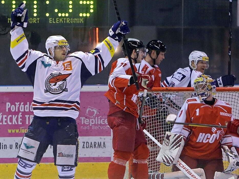 Olomouc vs. Chomutov - poslední zápas baráže o extraligu