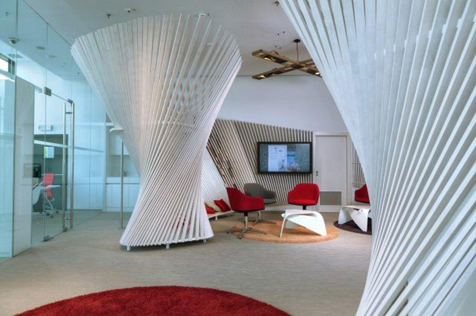 ERA finanční centrum v OC Šantovka v Olomouci.  Autor Ing.arch. Luka Križek