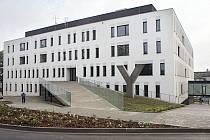 Nová budova II. interní kliniky gastroenterologie a geriatrie ve Fakultní nemocnici Olomouc.