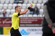 SK Sigma Olomouc - SK Dynamo České Budějovice. Rozhodčí Houdek