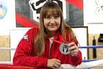 Olomoucká boxerka Claudia Tótová vybojovala na ME juniorů stříbro