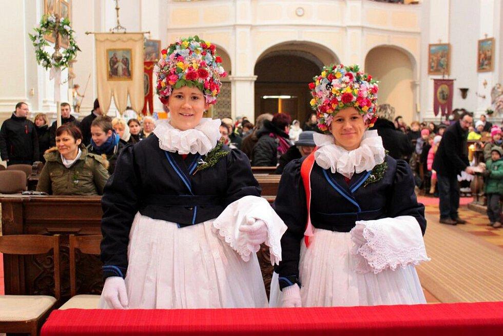 Ježíšovy matičky z Bělkovic v kostele svatého Matouše v Dolanech.