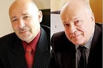 Ivo Barteček (vlevo), Lubomír Dvořák (vpravo)