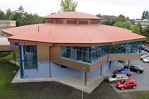 Nová budova školní jídelny a kuchyně v Hejčíně