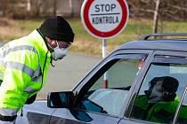 Uzavírka hraničních přechodů kvůli koronaviru. Ilustrační foto