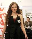 Lucie Machalová, Gymnázium Jana Blahoslava a Střední pedagogická škola, Přerov. Představení finalistek Miss OK 2016 v Beauty Café v Olomouci