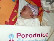 Laura Šenková, Moravičany narozena 25. února míra 48 cm, váha 2810 g