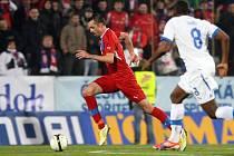 Michal Ordoš v reprezentačním útoku