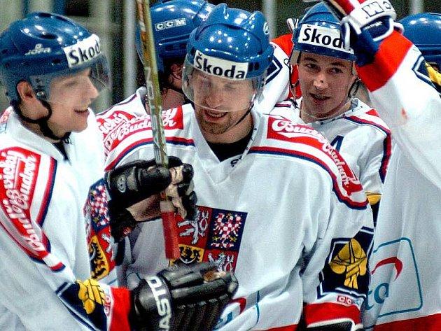 Hokejová reprezentace. Ilustrační foto