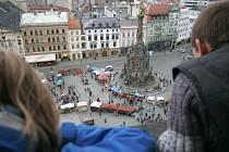 Prvomájový jarmark v Olomouci.