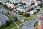Rozšíření tramvajové trati na Nové Sady a do Slavonína: vizualizace křížení Rooseveltova - Zikova ulice