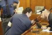 U olomouckého vrchního soudu proběhlo soudní jednání v případu čtyřnásobné vraždy, obviněný Kevin Dahlgren