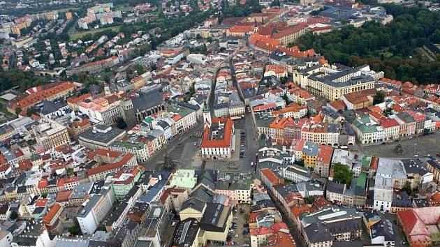 Historické centrum Olomouce