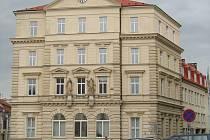Budova pošty na náměstí Republiky