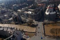Primárním cílem úprav koryta Moravy je ochrana před povodní.