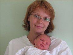 Stella Sedláková, Jindřichov, narozena 26. srpna v Olomouci, míra 52 cm, váha 3760 g