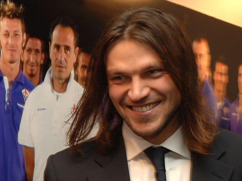 Tomáš Ujfaluši v roce 2008