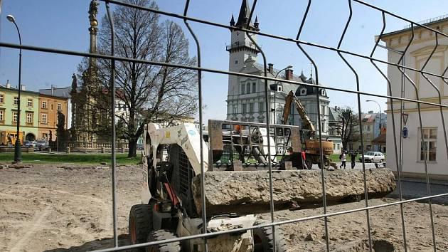 Rekonstrukce Masarykova náměstí v Uničově