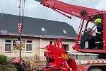 Pomoc hasičů po povodních v Olomouckém kraji - 9. 6. 2020