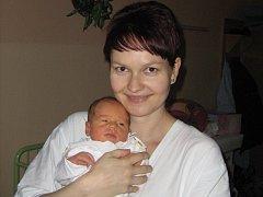 Anna Pospíšilová, Olomouc, narozena 26. prosince v Olomouci, míra 50 cm, váha 3240 g