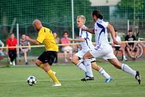 Fotbalisté Nových Sadů proti Dolanům. Ilustrační foto