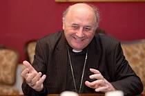 Arcibiskup olomoucký a metropolita moravský Jan Graubner