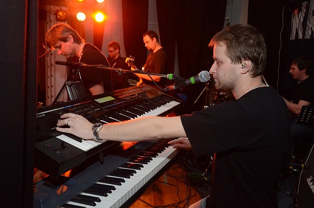 Tomáš Ostřanský se svým nástrojem
