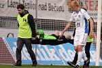 Ostravský gólman Pavlenka musel ještě v první půli do nemocnice