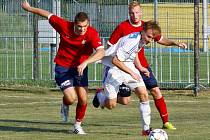 Šternberk (v bílém) proti HFK B
