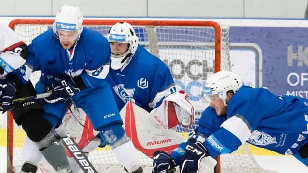 Hokejisté Univerzity Palackého Olomouc. Ilustrační foto